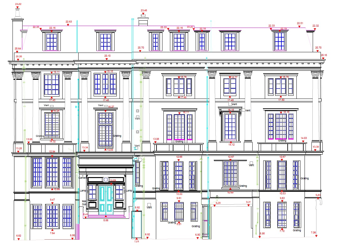 Building Drawing Plan Elevation : Building drawing plan elevation section pdf